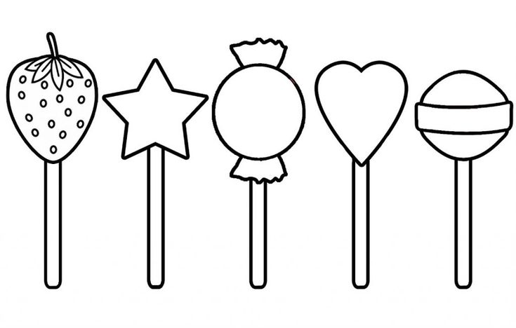 Easy Lollipop Coloring Pages Best Coloring Pages For