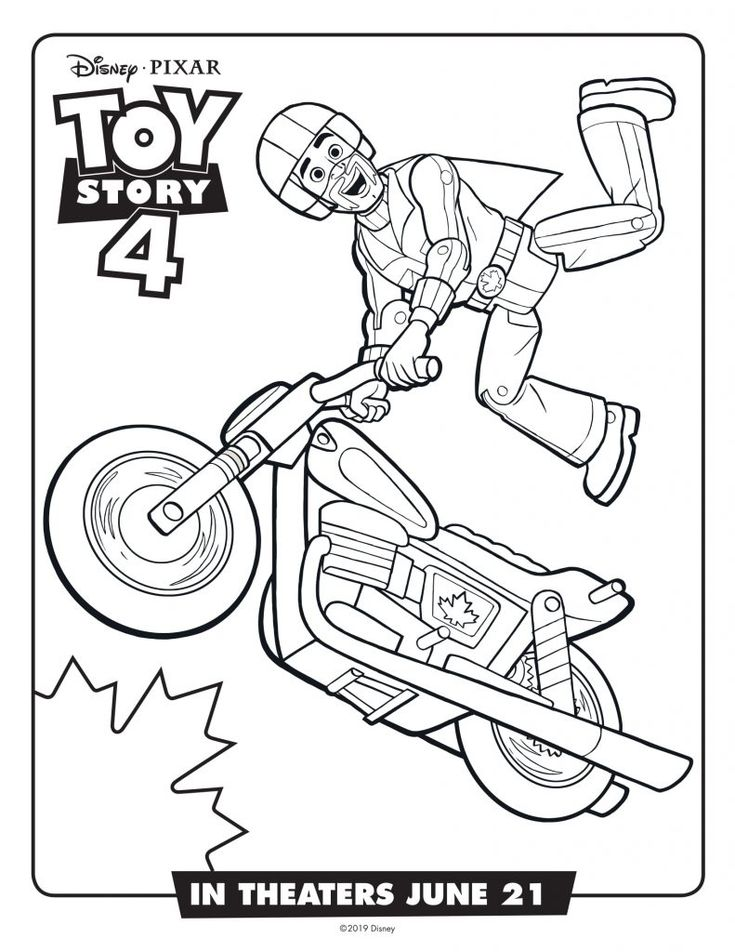 toddler Toy Story 4 Coloring Pages - Best Coloring Pages For Kids preschool