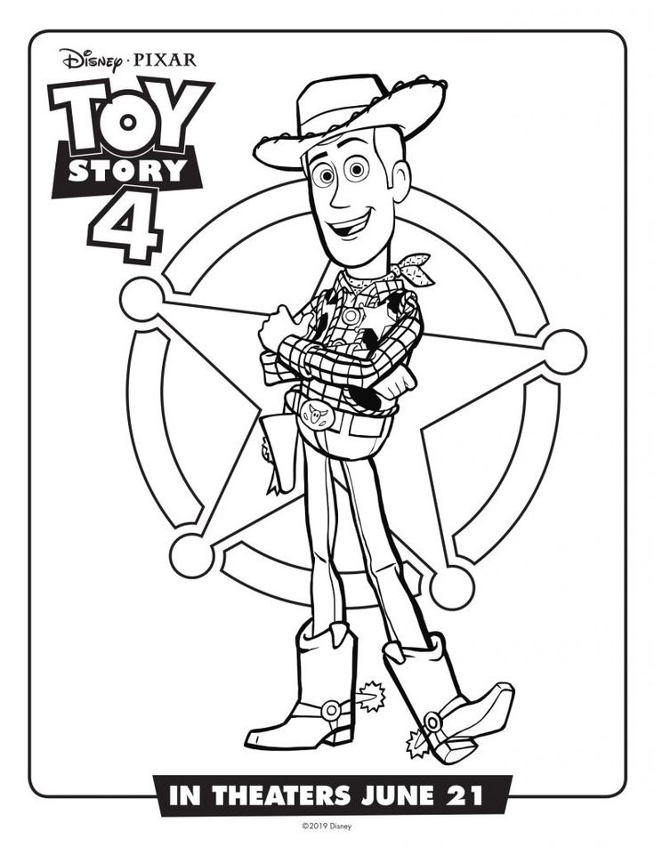 to print out Toy Story 4 Coloring Pages - Best Coloring Pages For Kids to print out