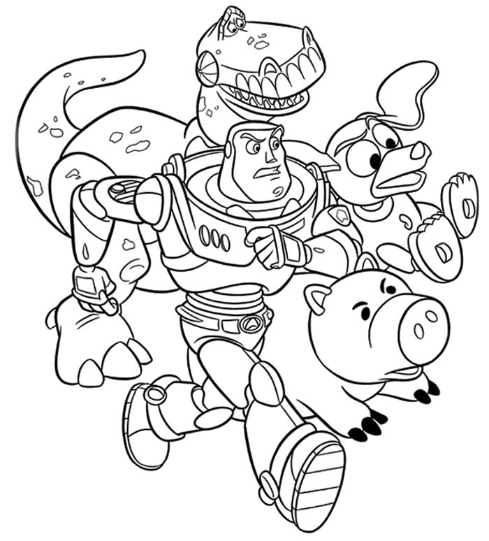 Pdf Toy Story 4 Coloring Pages Best Coloring Pages For