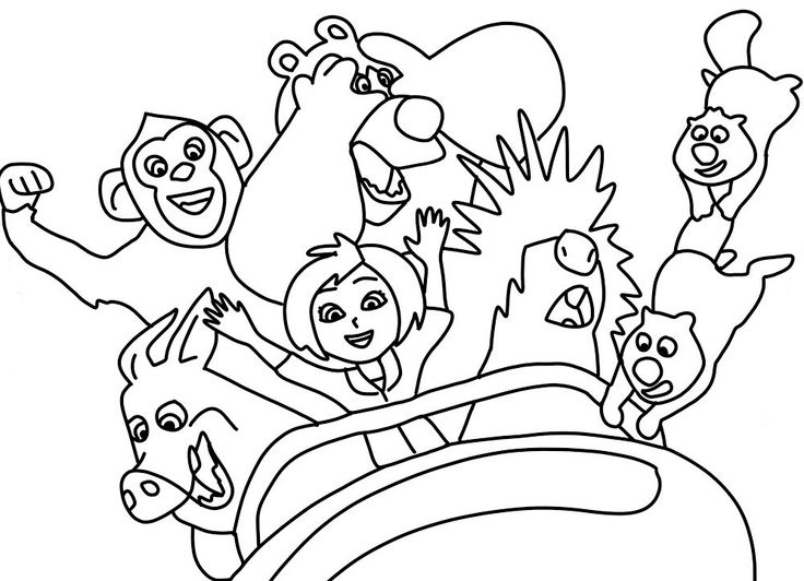 toddler Wonder Park Coloring Pages - Best Coloring Pages For Kids free