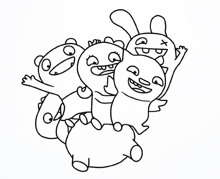 Simple Ugly Dolls Coloring Pages Best Coloring Pages For