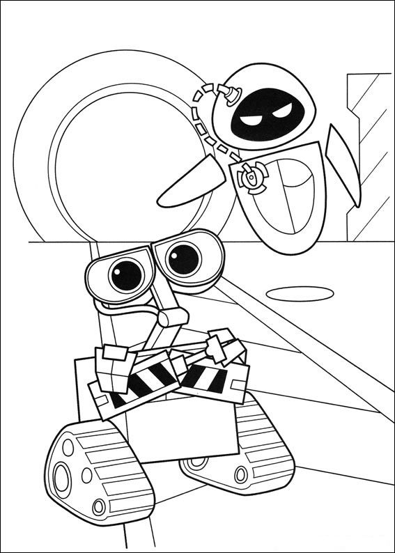 for adults WALL-E Coloring Pages - Best Coloring Pages For Kids printable
