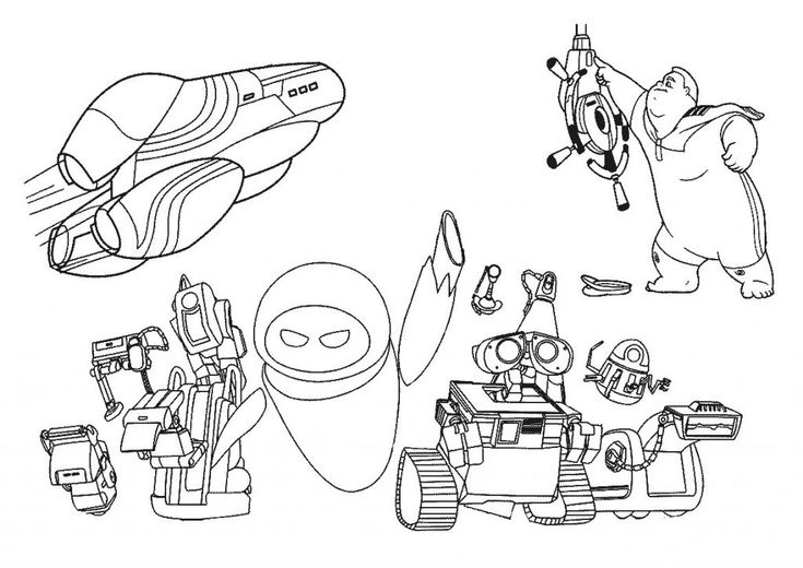 printable WALL-E Coloring Pages - Best Coloring Pages For Kids to print out