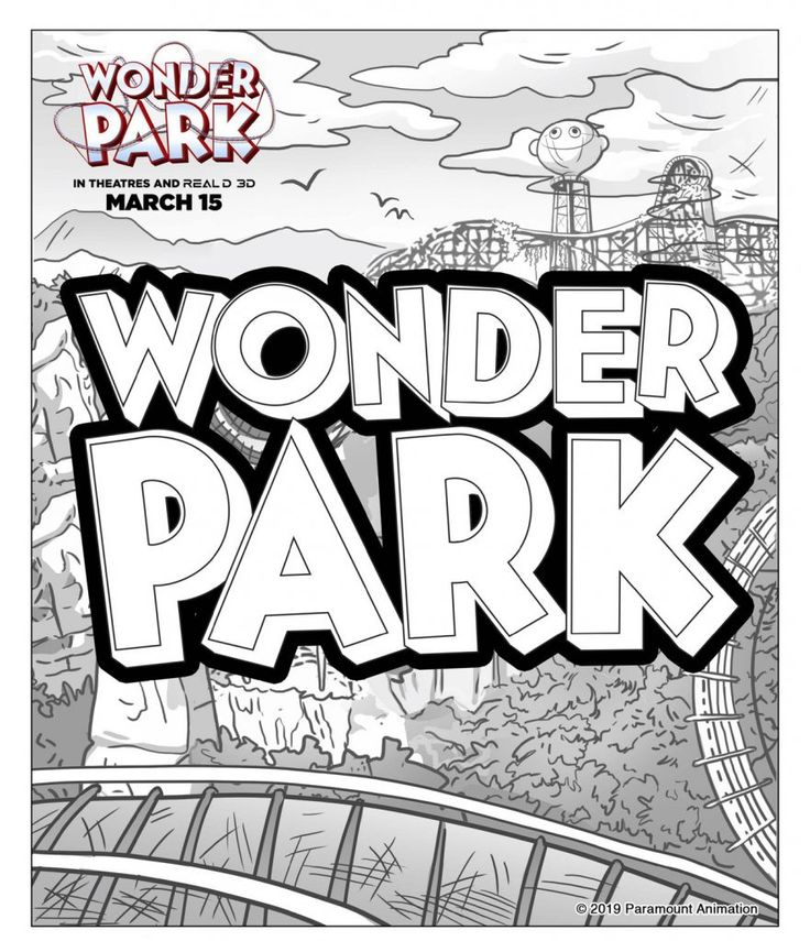 for teens Wonder Park Coloring Pages - Best Coloring Pages For Kids for sunday school