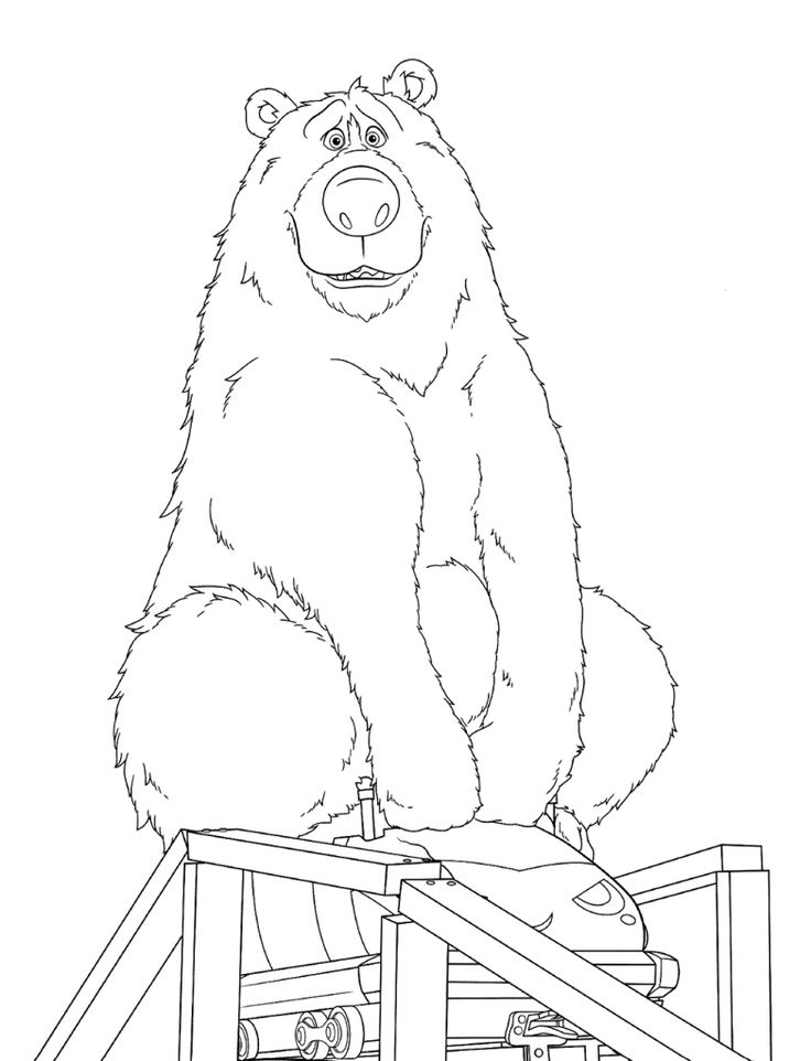 free printable Wonder Park Coloring Pages - Best Coloring Pages For Kids online