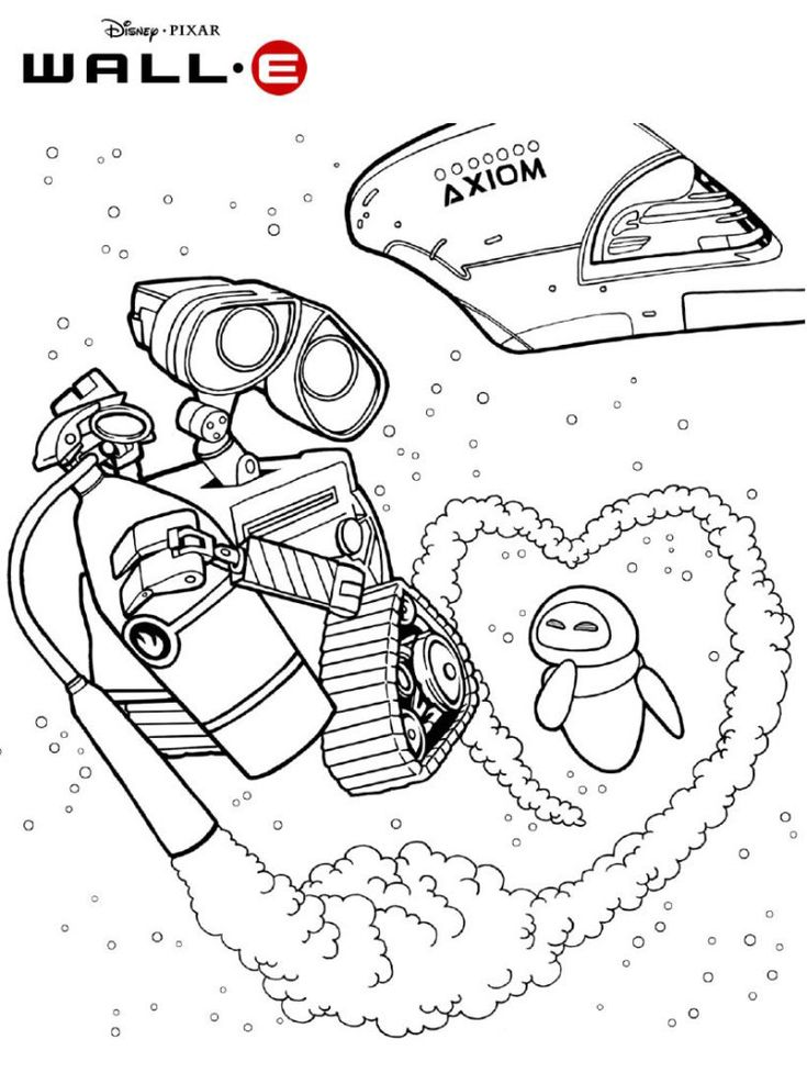 free WALL-E Coloring Pages - Best Coloring Pages For Kids online