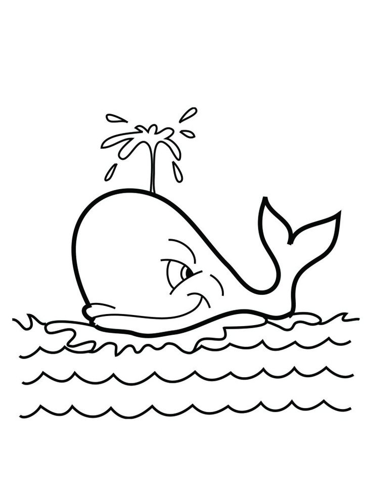 for kindergarten Free Printable Whale Coloring Pages For Kids for boys