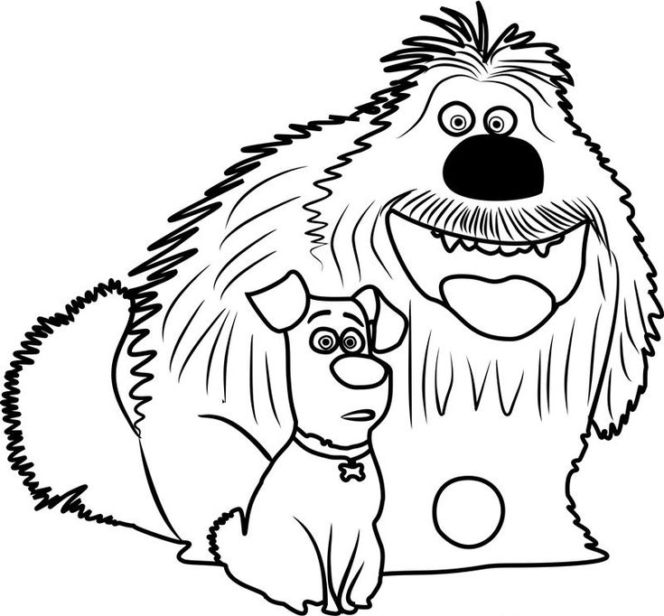 online The Secret Life of Pets Coloring Pages - Best Coloring Pages... for kids