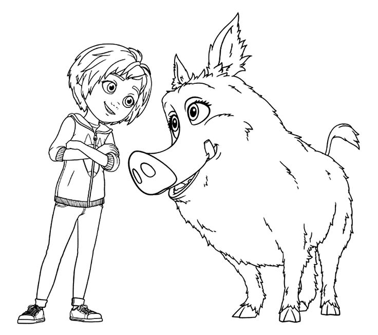 for adults Wonder Park Coloring Pages - Best Coloring Pages For Kids for boys