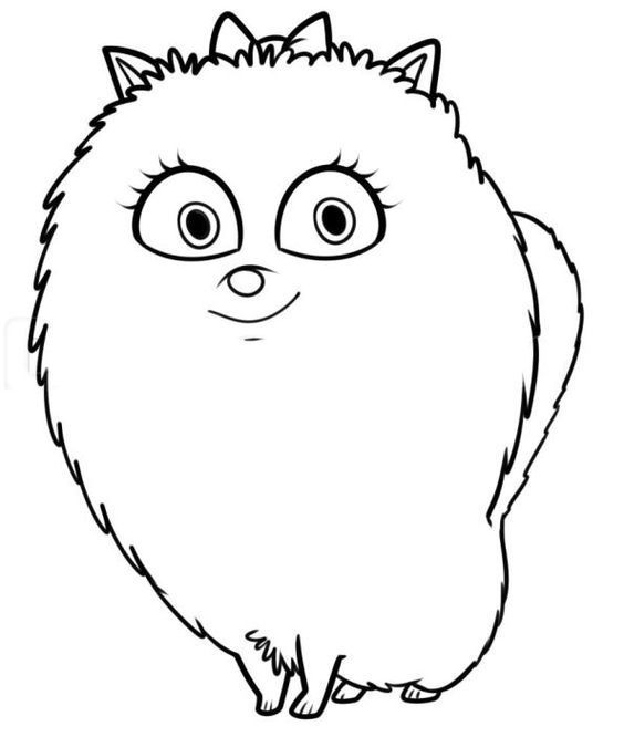 for kindergarten The Secret Life of Pets Coloring Pages - Best Coloring Pages... for teens