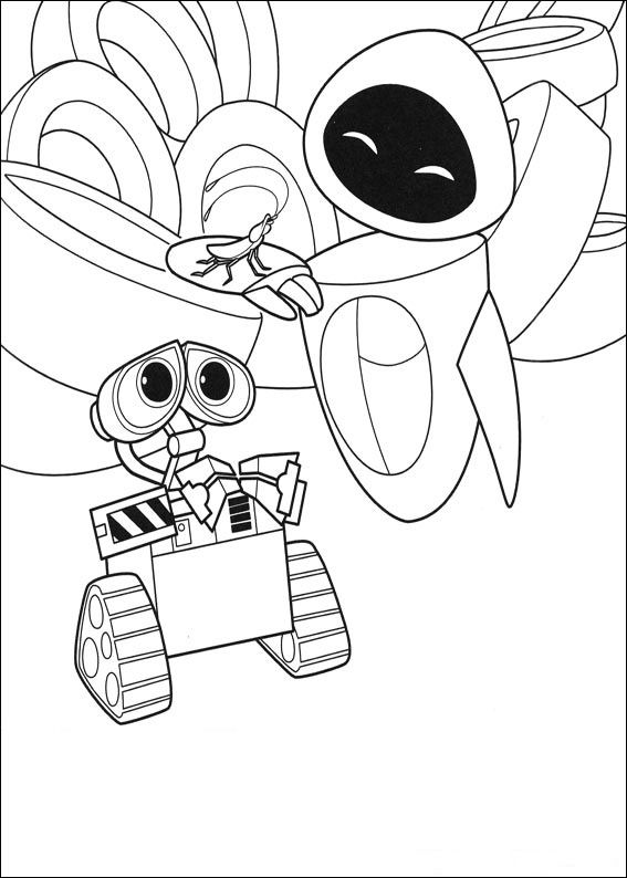 for boys WALL-E Coloring Pages - Best Coloring Pages For Kids online