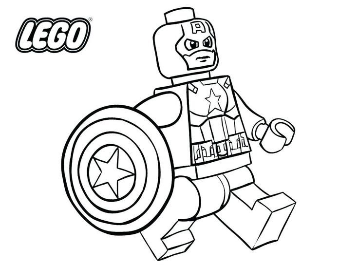 toddler Lego Superhero Coloring Pages - Best Coloring Pages For Kids for sunday school