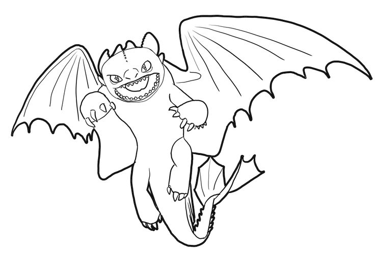 pdf How to Train Your Dragon Coloring Pages - Best Coloring Page... online