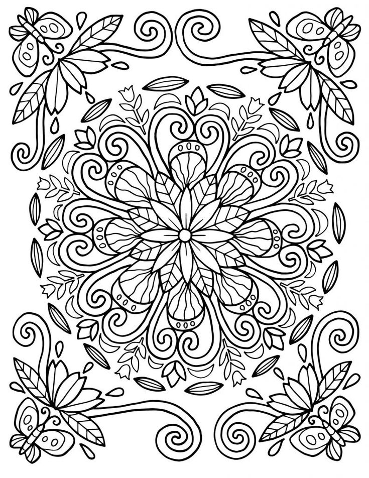 to print out Adults love to color as much as kids do and what better subj... free printable