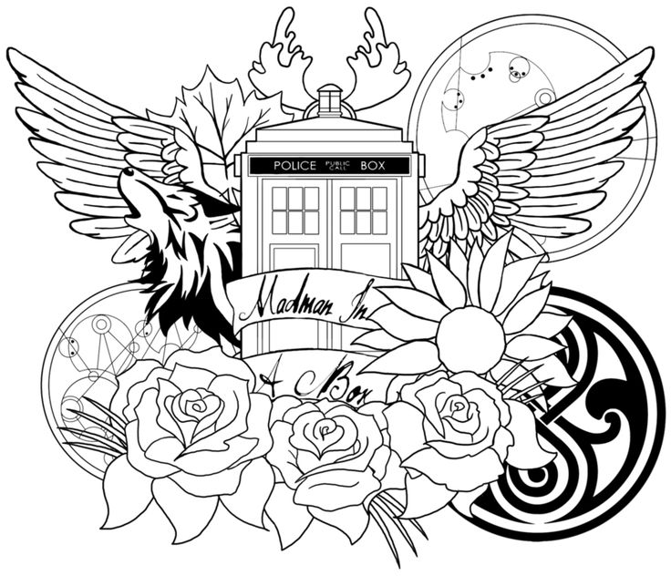 simple Doctor Who Coloring Pages - Best Coloring Pages For Kids for sunday school