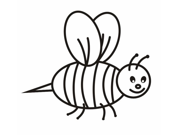 printable Free Printable Bumble Bee Coloring Pages For Kids for sunday school
