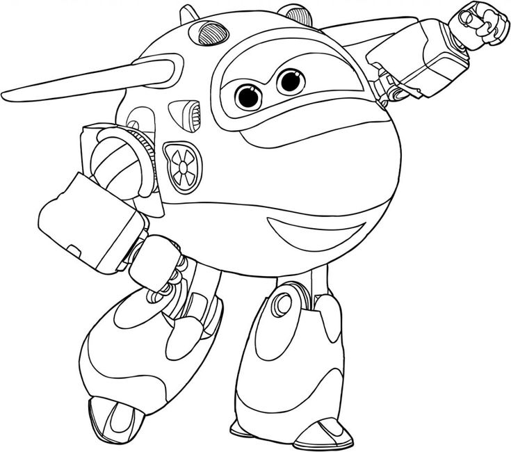 free printable Super Wings Coloring Pages - Best Coloring Pages For Kids preschool