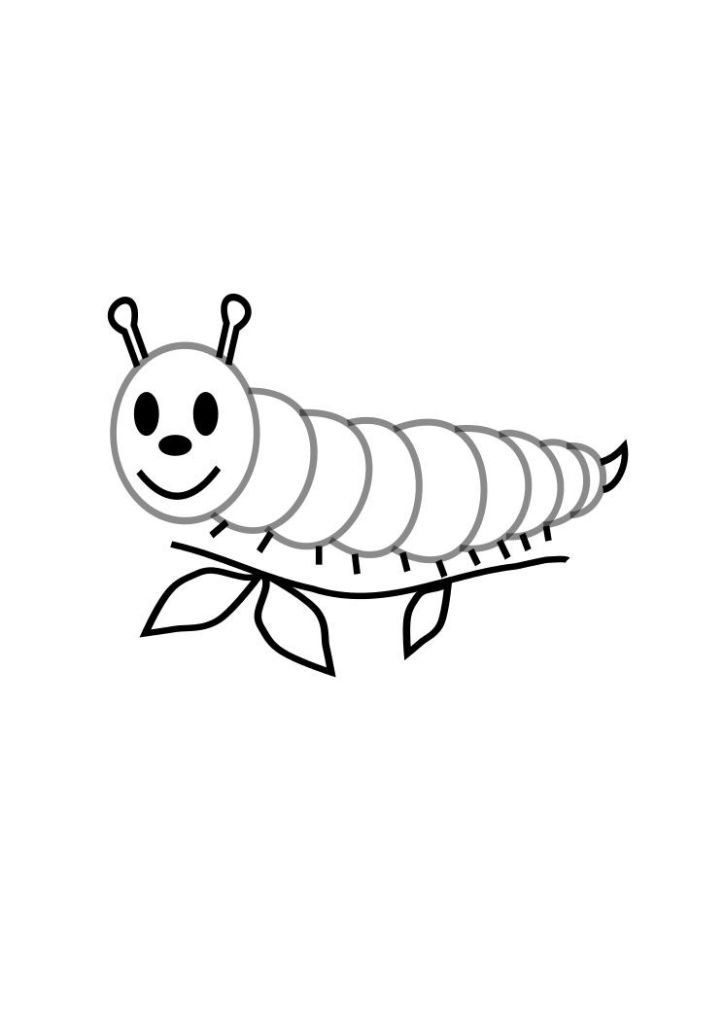 for adults Free Printable Caterpillar Coloring Pages For Kids pdf
