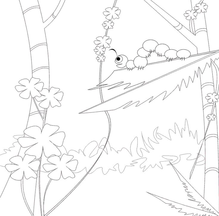 toddler Free Printable Caterpillar Coloring Pages For Kids for boys