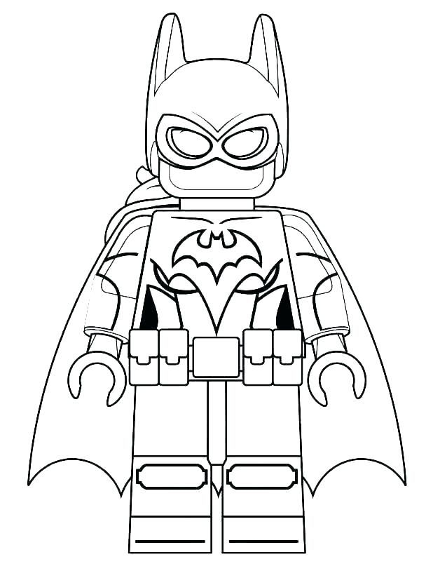 For Girls Lego Superhero Coloring Pages Best Coloring