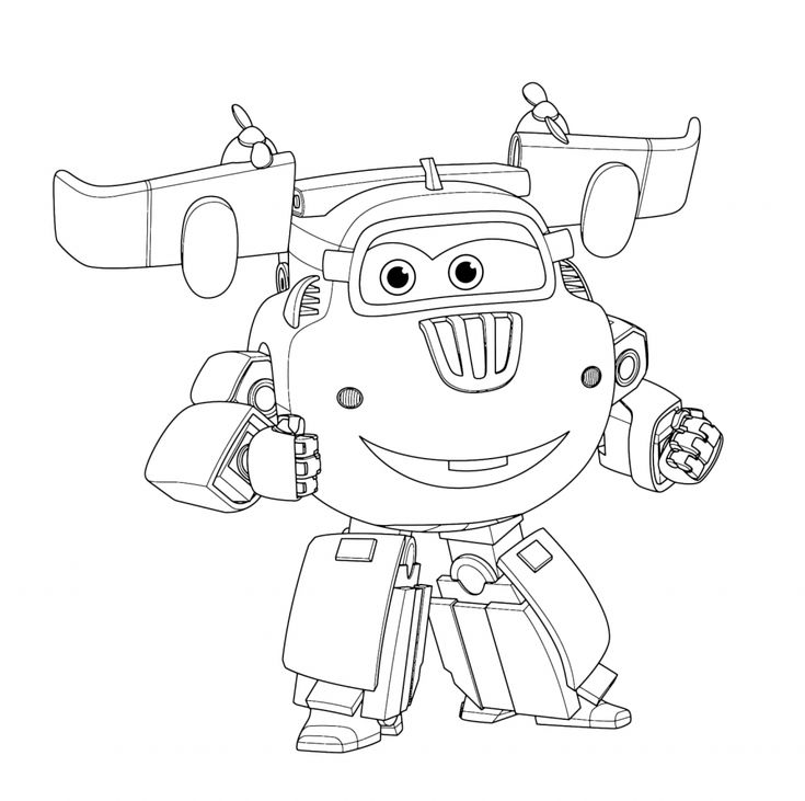 for sunday school Super Wings Coloring Pages - Best Coloring Pages For Kids toddler