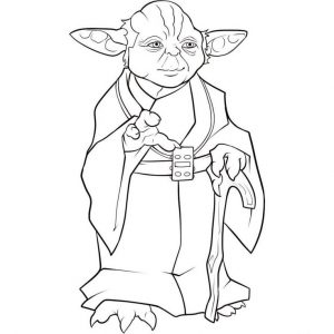 for kindergarten Yoda Coloring Pages - Best Coloring Pages For Kids for kindergarten