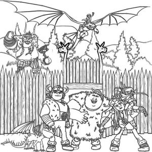 pdf How to Train Your Dragon Coloring Pages - Best Coloring Page... for girls