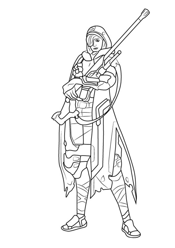 online Overwatch Coloring Pages are great for the older kids. Every... already colored