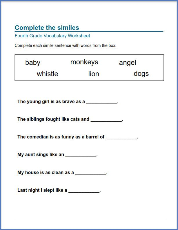 for toddlers 4th Grade Worksheets - Best Coloring Pages For Kids already colored