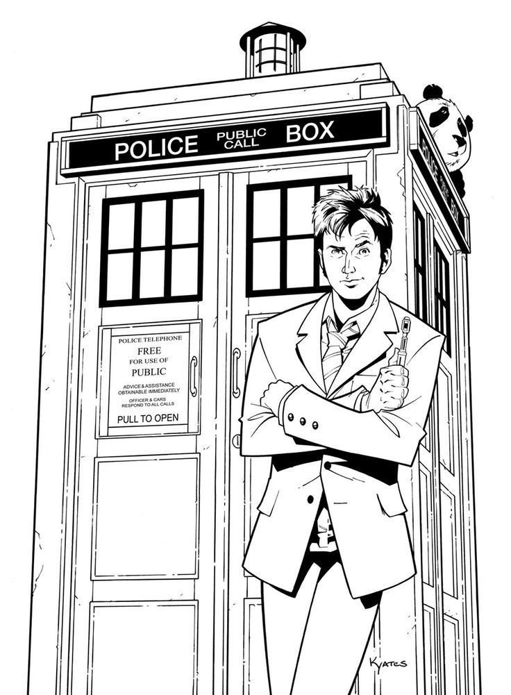 for toddlers Doctor Who Coloring Pages - Best Coloring Pages For Kids for toddlers