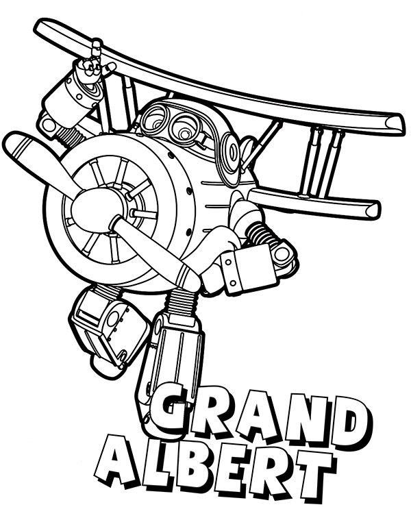 to print out Super Wings Coloring Pages - Best Coloring Pages For Kids preschool