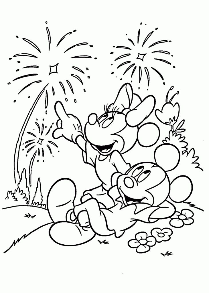 simple July Coloring Pages - Best Coloring Pages For Kids already colored