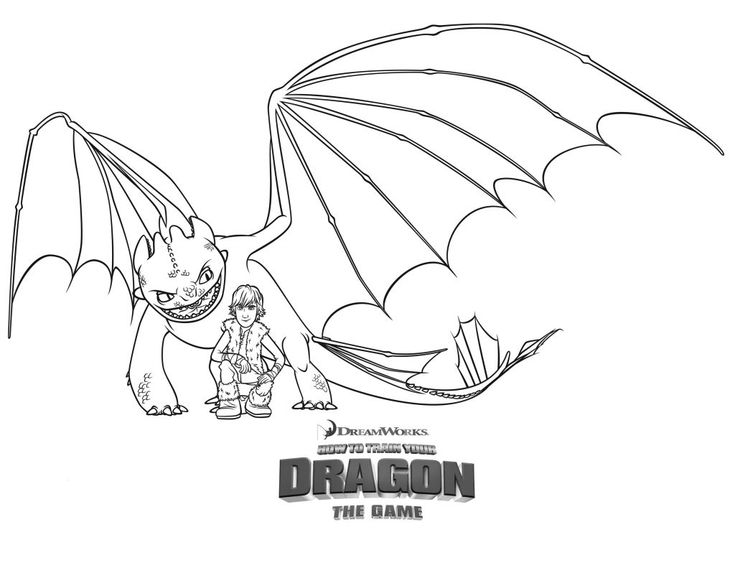 already colored How to Train Your Dragon Coloring Pages - Best Coloring Page... for kids