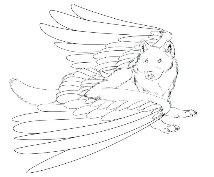 for girls Wolf Coloring Pages for Adults - Best Coloring Pages For Kid... free printable
