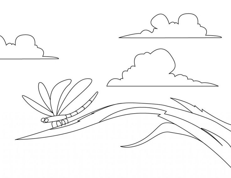 preschool Free Printable Dragonfly Coloring Pages For Kids printable