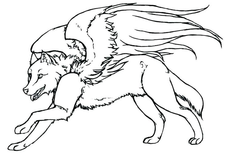 for kindergarten Wolf Coloring Pages for Adults - Best Coloring Pages For Kid... online