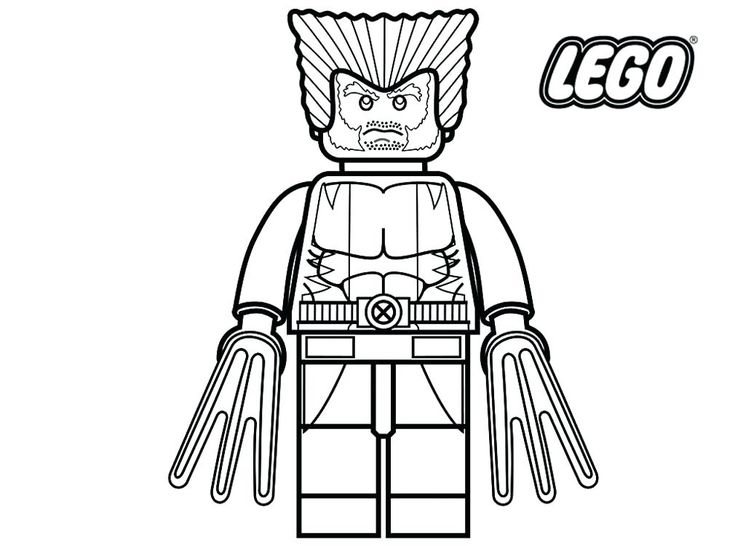 easy Lego Superhero Coloring Pages - Best Coloring Pages For Kids free