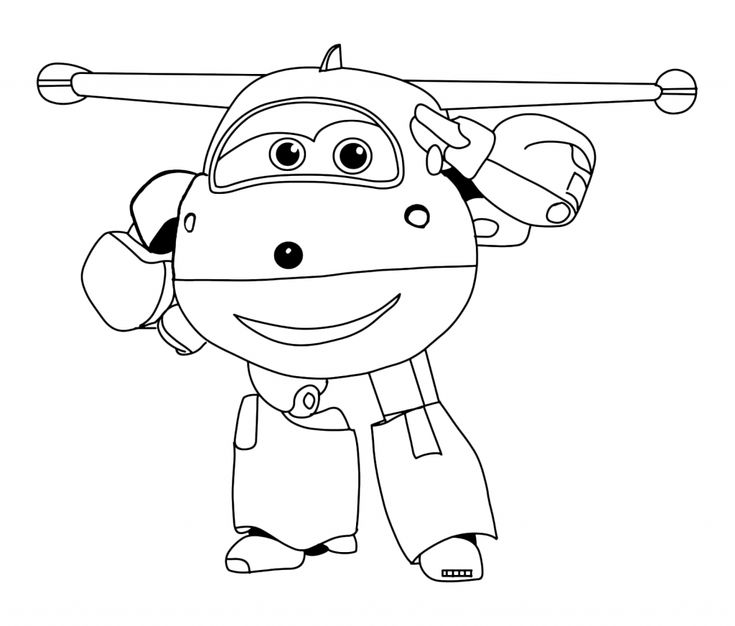to print out Super Wings Coloring Pages - Best Coloring Pages For Kids free printable