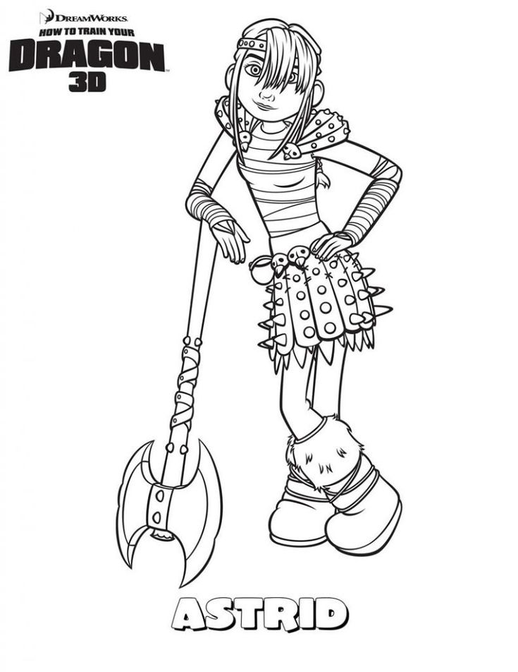 toddler How to Train Your Dragon Coloring Pages - Best Coloring Page... preschool