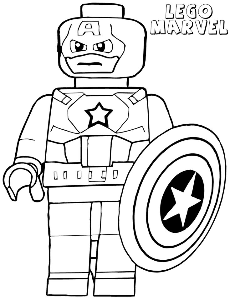 free Lego Superhero Coloring Pages - Best Coloring Pages For Kids for toddlers