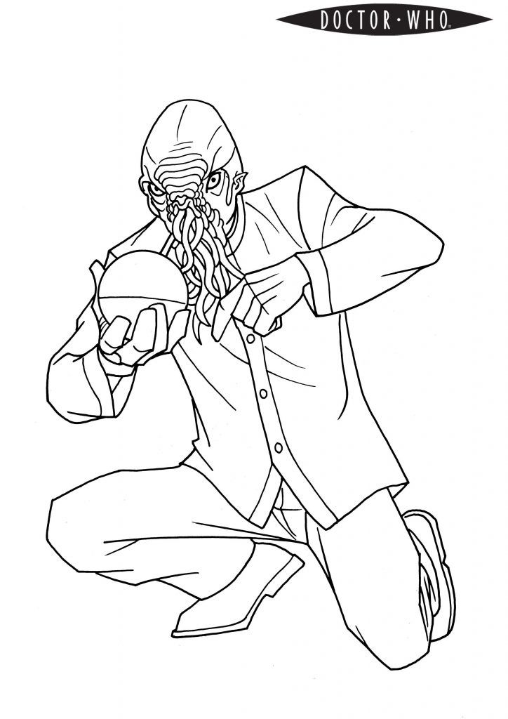 preschool Doctor Who Coloring Pages - Best Coloring Pages ...