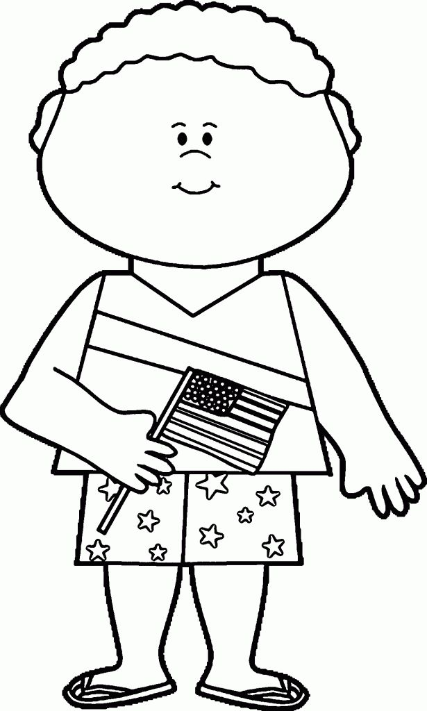 preschool Flag Day Coloring Pages - Best Coloring Pages For Kids free