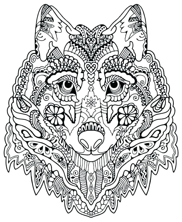 preschool Wolf Coloring Pages for Adults - Best Coloring Pages For Kid... for sunday school