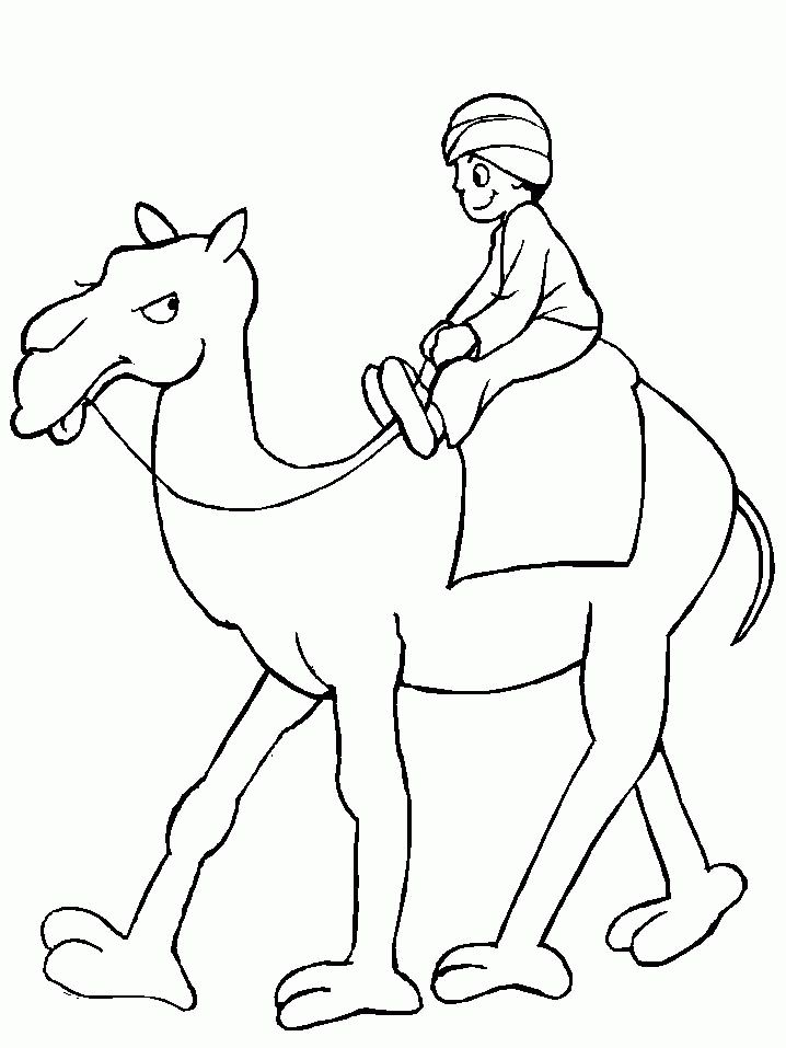 for kids Free Printable Camel Coloring Pages For Kids for girls