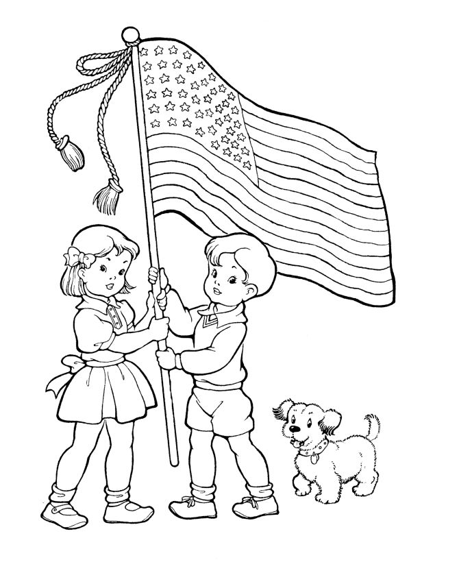 for girls Flag Day Coloring Pages - Best Coloring Pages For Kids for boys