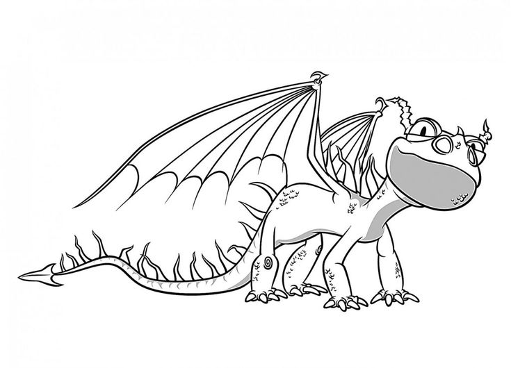 for boys How to Train Your Dragon Coloring Pages - Best Coloring Page... simple