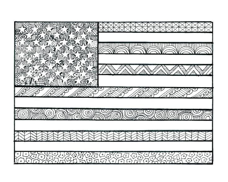 free printable Flag Day Coloring Pages - Best Coloring Pages For Kids toddler