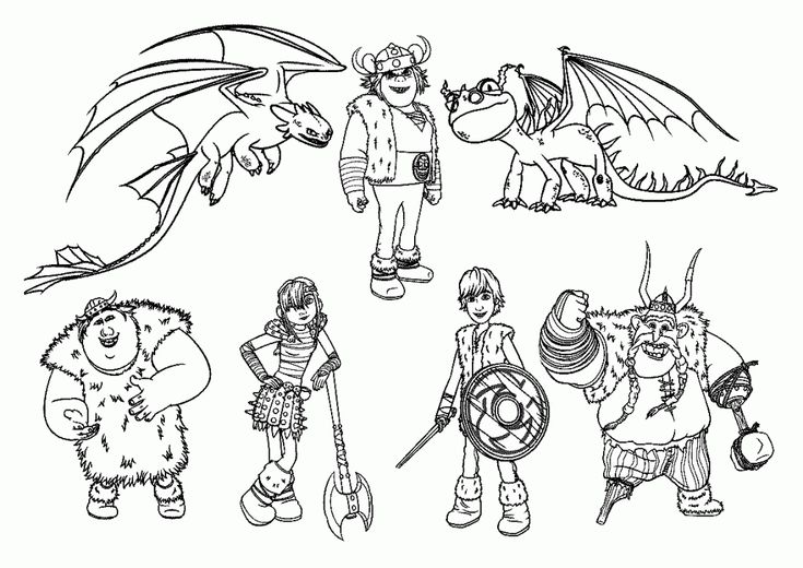 for kids How to Train Your Dragon Coloring Pages - Best Coloring Page... for kindergarten