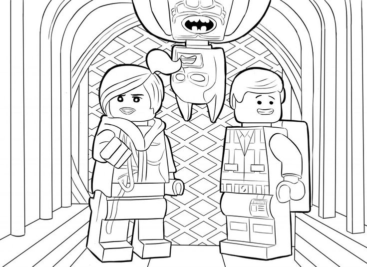 free Lego Superhero Coloring Pages - Best Coloring Pages For Kids for kindergarten